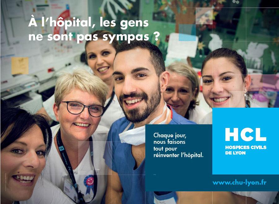 À l'hôpital, les gens ne sont pas sympas ?