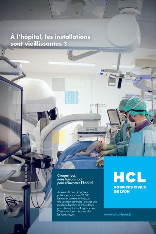 À l'hôpital, les installations sont vieillissantes ?