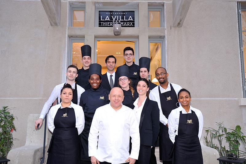 Thierry Marx ouvre la brasserie 'La Villa' à l'hôpital Edouard Herriot