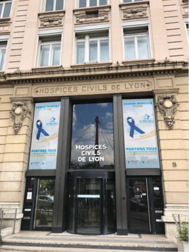 Journée mondiale de la sclérose en plaque aux Hospices Civils de Lyon