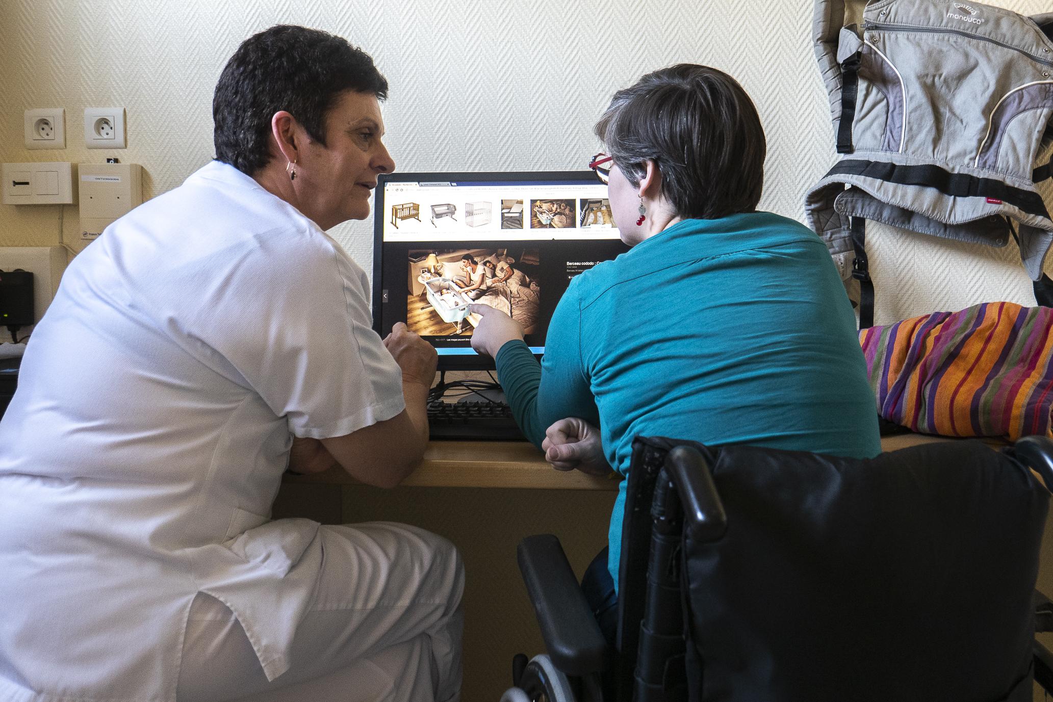 Consultation parentalité à l'Hôpital Henry Gabrielle HCL