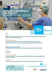 Plaquette de présentation des écoles et instituts de formation paramédicales des Hospices Civils de Lyon