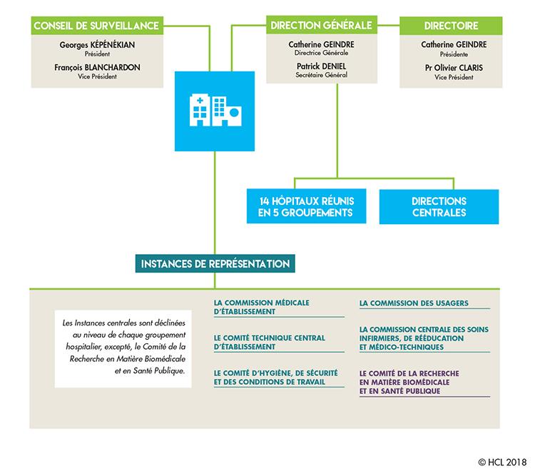 Instances de gouvernance des HCL