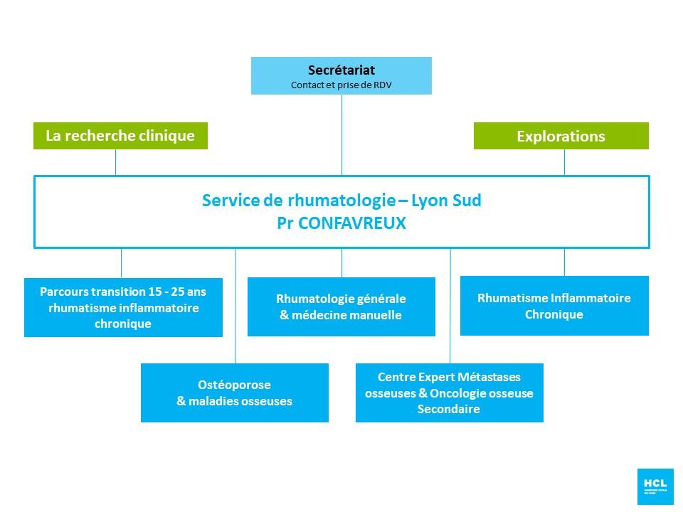 Service de rhumatologie de l'hôpital Lyon Sud
