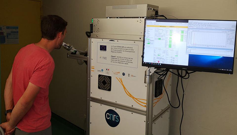 Spectromètre de masse Vocus, à l'hôpital de la Croix-Rousse à Lyon