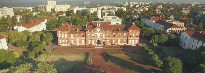 Façade de l'Hôpital Pierre Garraud