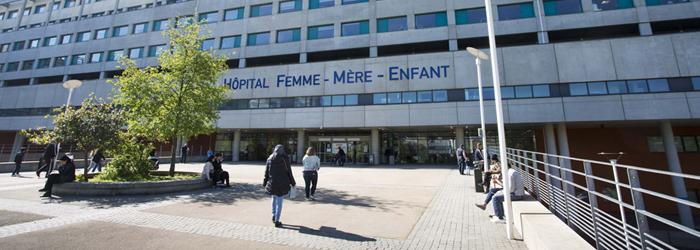 Façade de l'Hôpital Femme-Mère-Enfant