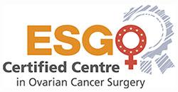 Certification ESGO en tant que centre de chirurgie avancée du cancer de l'ovaire .