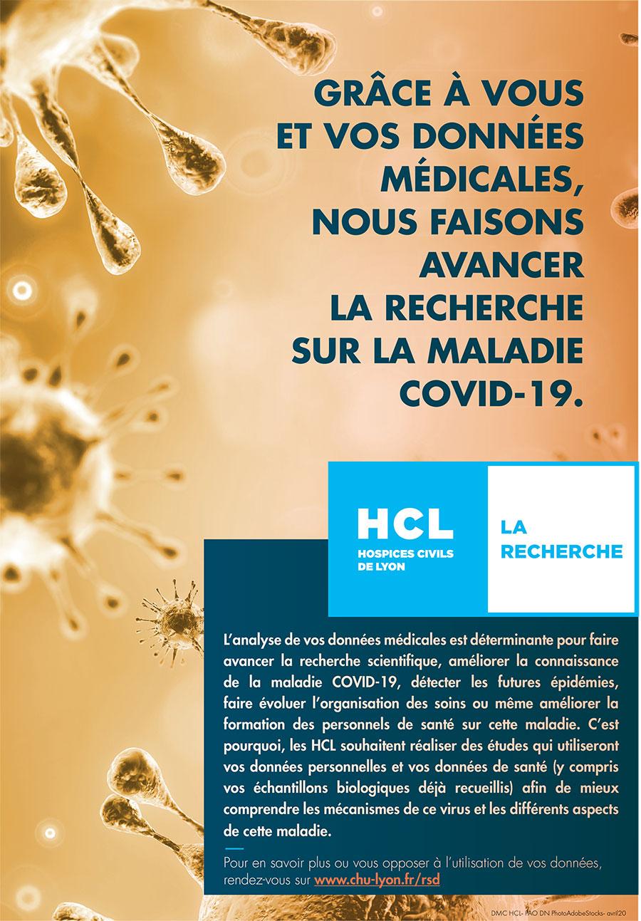 Recherche sur données de santé - HCL