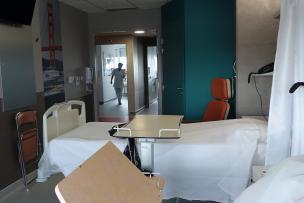 chambres neuves rénovée hôpital cardio Louis Pradel HCL